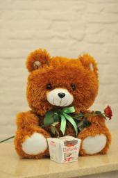 Ведмедик з раффаелло