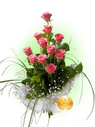 "A bouquet ""Flamingo Rose"""